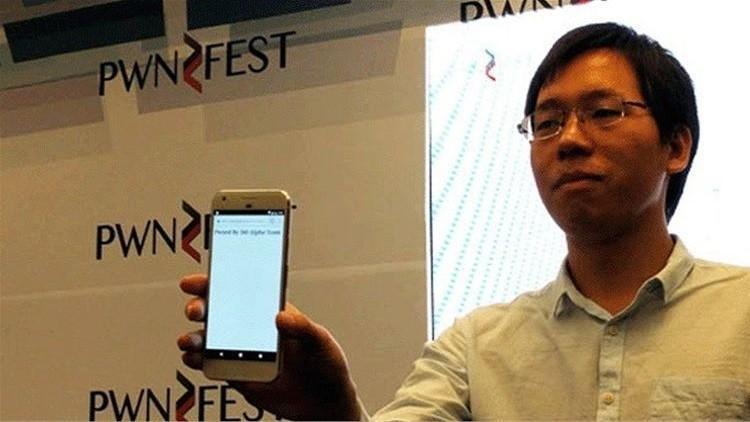 """فريق صيني يخترق """"بكسل"""" أحدث هواتف جوجل في 60 ثانية"""