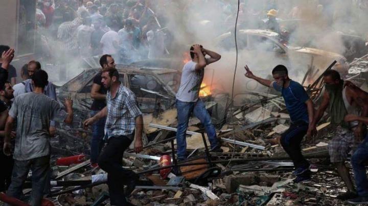قصف حلب