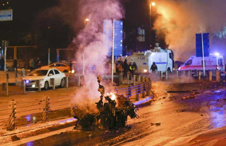 تفجير بشكتاش اسطنبول